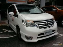CNY SPECIAL DISCOUNT 2017 Nissan Serena 2.0 S-Hybrid READY STOCK