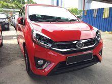 2017 Perodua AXIA 1.0 FULL LOAN DISCOUNT 1000 REVERCE CAMERA DVD PLAYER
