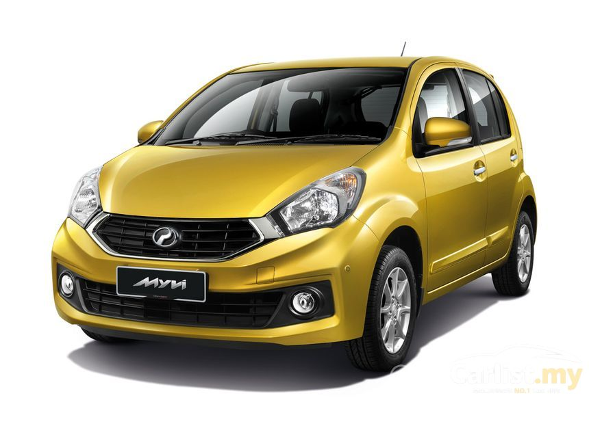 Perodua Myvi 2017 G 1 3 In Putrajaya Automatic Hatchback Gold For