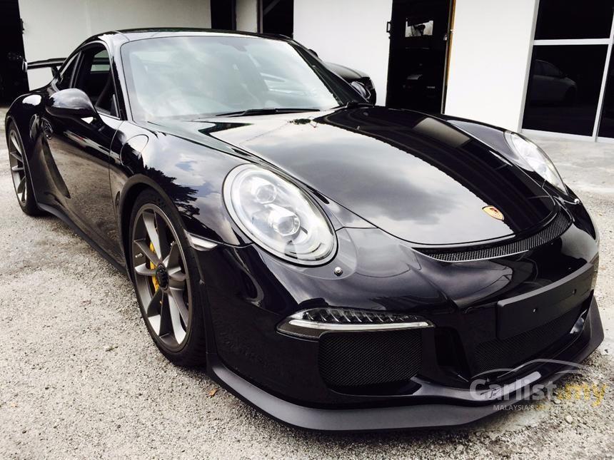 2014 porsche 911 gt3 coupe - Porsche 911 2014 Black