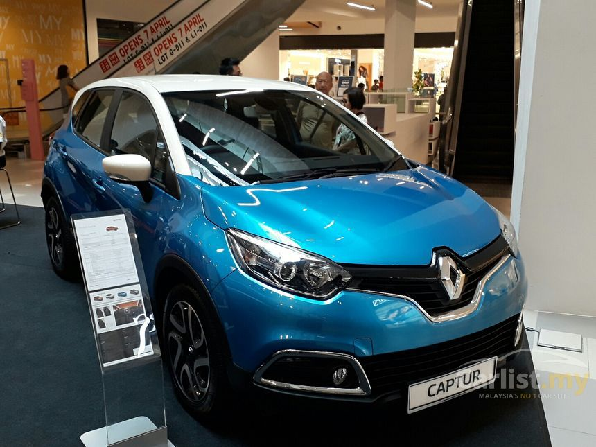 renault captur 2017 1 2 in selangor automatic suv blue for. Black Bedroom Furniture Sets. Home Design Ideas