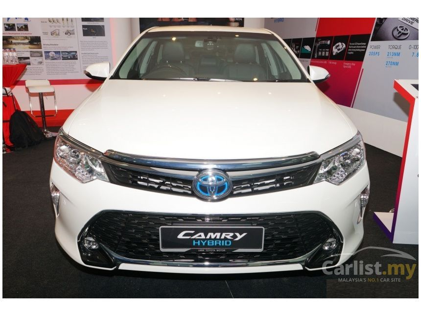 toyota camry 2017 hybrid luxury 2 5 in kuala lumpur automatic sedan white for rm 160 400. Black Bedroom Furniture Sets. Home Design Ideas