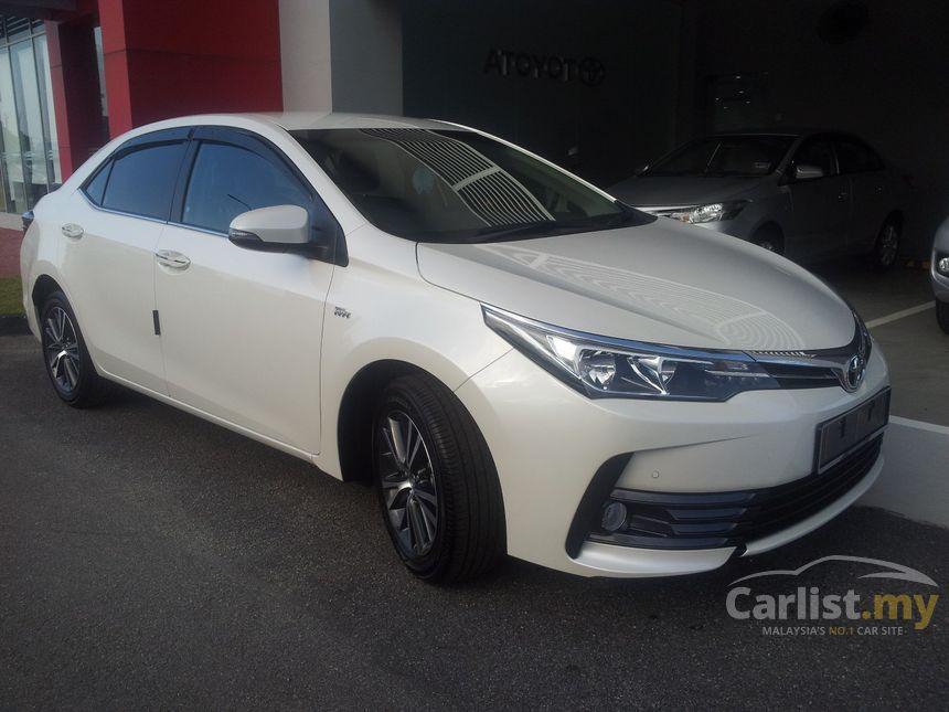 Toyota Corolla Altis 2017 E 1.8 in Selangor Automatic ...