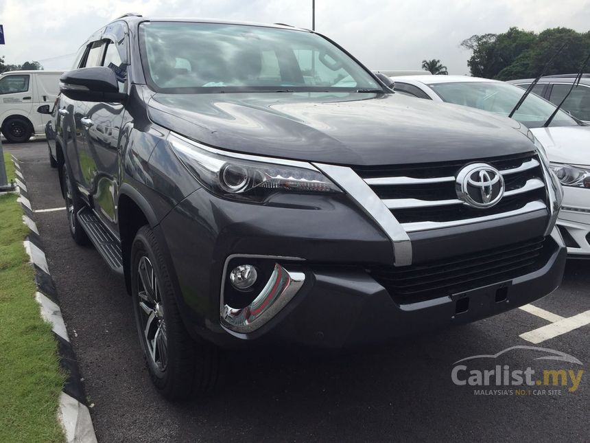 Sell Your Car For Cash >> Toyota Fortuner 2017 VRZ 2.4 in Selangor Automatic SUV Black for RM 165,399 - 3551366 - Carlist.my