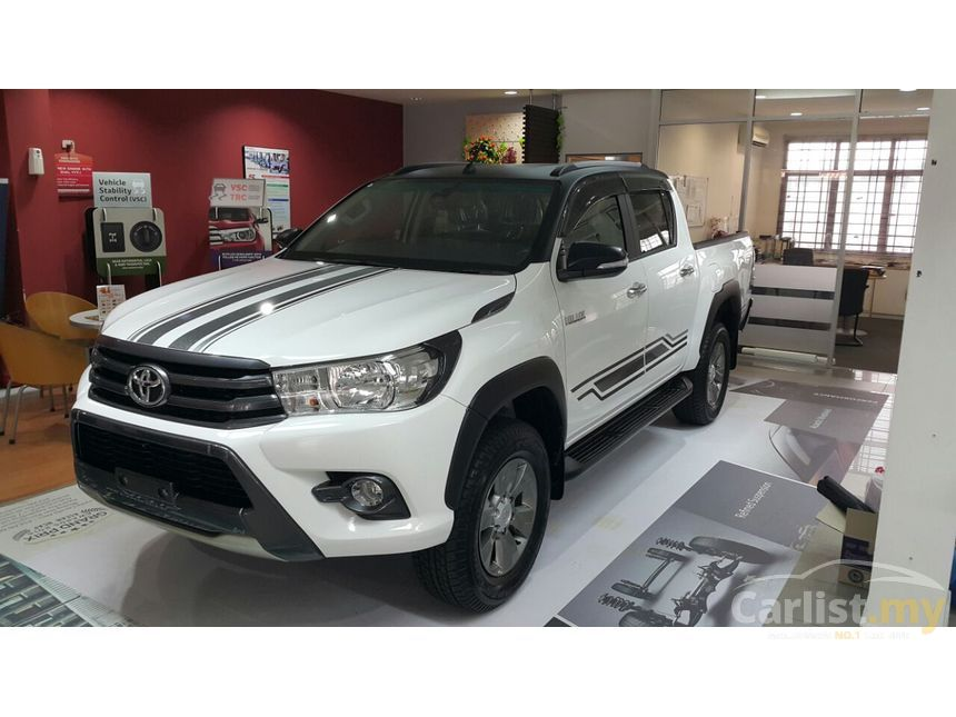 Toyota Hilux 2017 G 2 4 In Selangor Automatic Pickup Truck