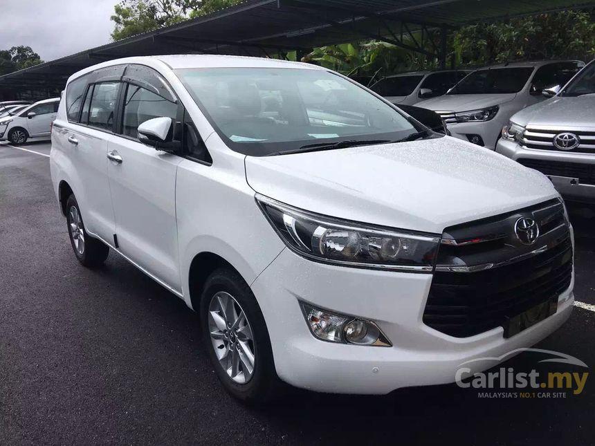 Toyota Innova 2017 E 2 0 In Penang Automatic Mpv White For Rm