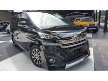 2016 Toyota Vellfire 3.5 EXECUTIVE LOUNGE BLACK INTERIOR UNREG