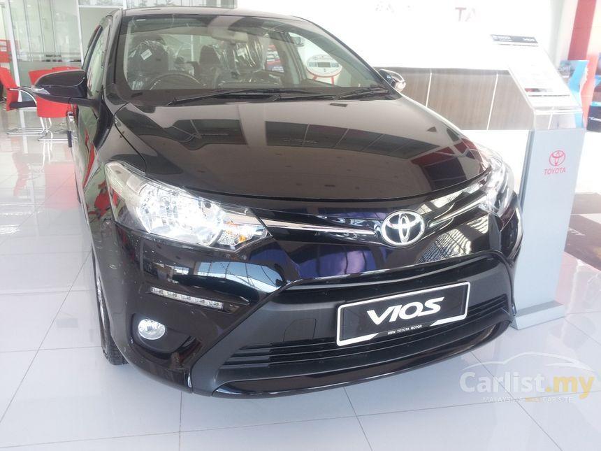 Toyota Vios 2017 J 1 5 In Selangor Automatic Sedan Black
