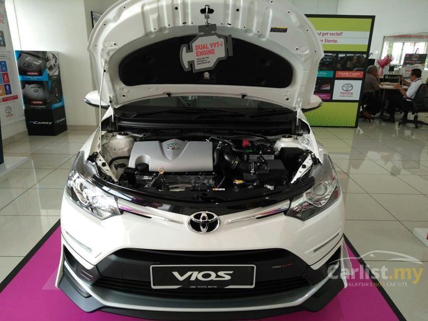 Toyota Vios 2016 TRD Sportivo 1.5 in Kuala Lumpur Automatic Sedan White for RM 91,000 - 3223078 ...