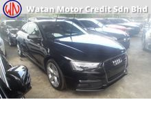 AUDI A5 1.8 TFSI S-LINE COUPE NEW FACELIFT NEW ENGINE LED LIGHT BAR ACTUAL YR 2013 FREE 1 YR GMR WARRANTY