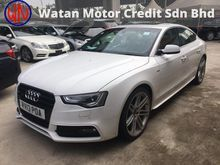 2013 Audi A5 2.0 S-LINE QUATTRO TFSI Hatchback (ACTUAL YEAR MAKE 2013)