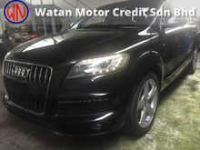 Audi Q7 3.0 TDI S-Line QUATTRO FACELIFT,7 SEATER,245HP,NEW DESIGN STEERING N GEARKNOB,MMI-SYSTEM,LED DAYLIGHT,PADDLE SHIFT,TRUE YEAR CAN PROVE 12UNREG