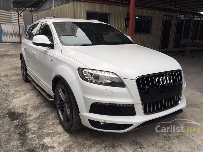 audi q7 2012 tdi 3 0 in kuala lumpur automatic suv white. Black Bedroom Furniture Sets. Home Design Ideas