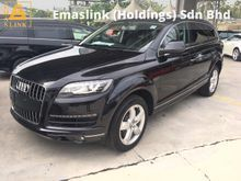 2012 Audi Q7 3.0 TFSi V6 Petrol Quattro 7 Seat Push Start Button MMi 3 BOSE Memory Seat Power Boot Xenon LED Reverse Camera 1 Year Warranty Unreg