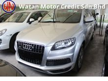 AUDI Q7 3.0 TFSI S-LINE PETROL FACELIFT 8G,POWER BOOT,MEMORY SEAT,SIDE AND REVERSE CAMERA,NEW STEERING GEAR KNOB,KL AP,11-UNREG,FREE 1 GMR WARRANTY