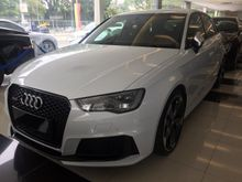 2015 Audi RS3 2.5 Hatchback FIVE CYLINDER TFSI QUATTRO S-TRONIC DYNAMIC SPORT EXHAUST UNREG RS4 RS5 RS6