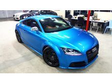 2014 AUDI TTS 2.0 TURBO QUATTRO SPEC PADDLE SHIFT BLUE (8114 ) PRICE RM 228K x DP RM 24000 x LOAN RM 216K x 2.7 x 9 YEAR  INSTALLMENT RM 2486 (108)