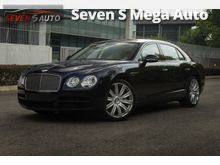 Bentley Flying Spur 4.0 V8 DIAMOND SEAT (INCLUDE GST) 4,900km Only. Like Brand New Car Condition
