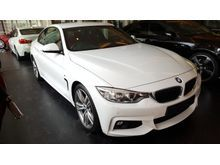 2014 BMW 428i 2.0 M Sport Coupe Facelift High Spec (A) Offer