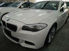 BMW 520I M SPORT SUNROOF JAPAN SPEC,BOTH ELECTRIC SEAT 13 UNREG