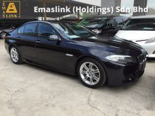 2012 BMW 520i 523i 2.0 Twin Power Turbo M Sport Memory Leather Seat Paddle Shift Sport Plus Comfort Keyless Entry Xenon Reverse Camera 1 Year Warranty