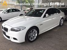 2011 BMW 523i M Sport Sun Roof Memory Leather Seat Auto Telescopic Paddle Shift Steering Sport Plus Comfort Xenon Reverse Camera 1 Year Warranty Unreg