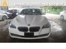 2011 BMW 523i 2.5 (A) 6 CYLINDER CAMERA PUAH START 2011 UNREG