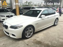 2012 BMW 528i 2.0 M Sport Twin Power Turbo 245hp Multi Function Paddle Shift Sport Plus Sport Comfort Start Stop Engine Bluetooth 1 Year Warranty