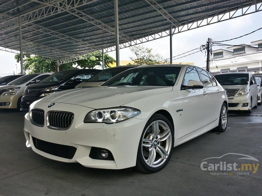 BMW 528i 2013 M Sport 20 in Kuala Lumpur Automatic Sedan White