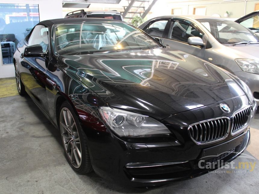 BMW 640i 2011 30 in Kuala Lumpur Automatic Convertible Black for