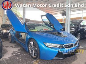 2016 BMW i8 1.5 Turbo Fully Loaded 360 Camera Keyless Entry Head Up Display Harman Kardon Premium Sound Pre Crash Lane Assist Paddle Shift Unreg
