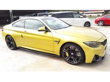 2015 BMW M4 3.0 SUNRROUND CAM #  CARBON INTERIOR # CERAMIC BRAKE # HARMAN KARDON SOUND SYSTEM # PLUSSPORT
