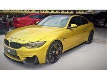 2015 BMW M4 3.0 Coupe 540HP  SURROUND CAM TWIN TURBO   CERAMIC BRAKE  SPORT PLUS