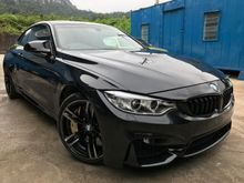 2015 BMW M4 3.0 Coupe V6 M POWER TWIN TURBO STAGE 2 540HP AKRAPOVIC EXHAUST ONLY 1 IN MARKET FULL SPEC UNREG PROMOTION BIG DISCOUNT