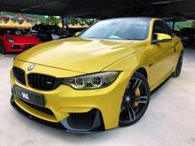 2015 BMW M4 3.0 Coupe M-PERFORMANCE KIT HEAD UP DISPLAY LED HEADLAMP SURROUND CAM FULL SPEC M2 M3 M5 M6 UNREGISTER INCLUDED GST OFFER PRICE