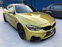 2015 BMW M4 3.0 COUPE M-PERFORMANCE KIT HUD LED CARBON FIBRE SURROUND CAM FULL SPEC M2 M3 M5 M6 UNREG PROMOTION BIG DISCOUNT
