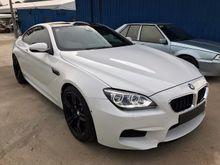 2013 BMW M6 4.4 Coupe V8 TWIN TURBO HUD LED HEADLAMP CARBON FIBER INT FULL SPEC UNREG YEAR END SALE BIG DISCOUNT M2 M3 M4 M5 M6