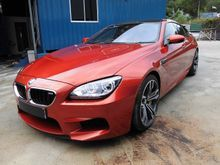 2014 BMW M6 4.4 RED LEATHER SEATS  BANG AND  OLUFSEN SURROUND SOUND SYSTEM  CERAMIC BRAKE  VACUUM DOOR  SURROUND CAM  KEYLESS