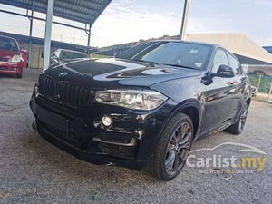BMW X6 3.0 M50D M PERFORMANCE SUNROOF CAMERA MEMORY SEAT HUD 2016 UNREG
