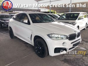 2015 BMW X6 M Sport 3.0 Twin Turbo Full Spec 360 Surround Camera Head Up Display Harman Kardon Full LED Headlamp Sun Roof Bucket Seat Power Boot Unreg