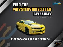 Find the #MysteryMuscleCar 2012 Chevrolet Camaro 3.6 Convertible