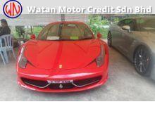 2010 Ferrari 458 Italia 4.5 Coupe (m) -RECOND