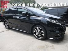 2014 Honda Odyssey 2.4 ABSOLUTE RC1 NEW FACELIFT 2 POWER DOOR ECO MODE SYSTEM ELECTRIC SEATS BI XENON HEADLAMPS DAYTIME SYSTEM MULTI FUNCTION STEERING