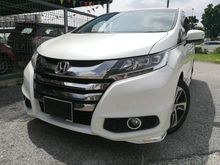 UNREGISTER - HONDA ODYSSEY RC-1 - 2.4 (A) ABSOLUTE  -  YEAR 2013 - 2 POWER DOOR - LATEST MODEL - DAYLIGHT - PADDLE SHIFT - 200 HP - TIP-TOP CONDITON