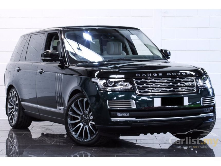 land rover range rover 2016 supercharged svautobiography lwb 5 0 in selangor automatic suv green. Black Bedroom Furniture Sets. Home Design Ideas