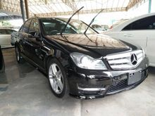 2012 Mercedes-Benz C200 CGI AMG 1.8cc UNREG JAPAN SPEC