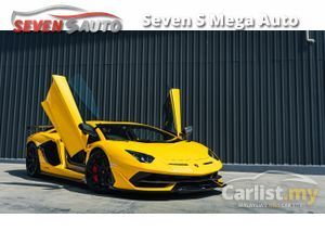 2019 Lamborghini Aventador SVJ (Super Veloce Jota) 6.5L V12 NA (770ps) (721Nm)
