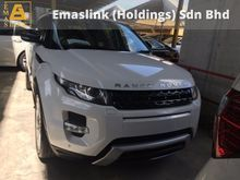 2012 Land Rover Range Rover Evoque 2.0 Unregister