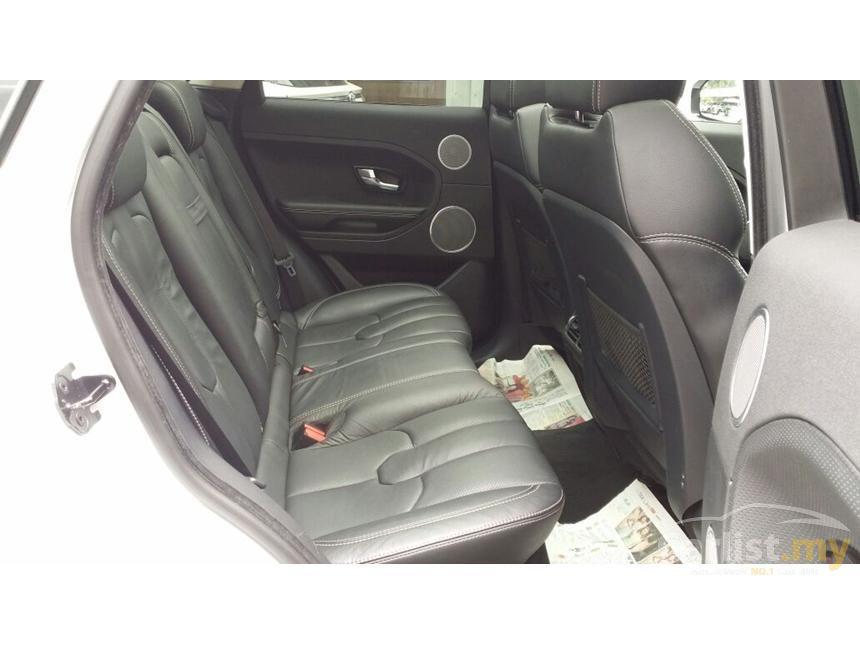 2012 Land Rover Range Rover Evoque Si4 SUV