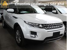 2013 Land Rover Range Rover Evoque 2.0 turbo 2013 unreg